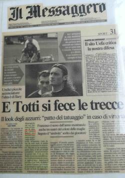 Luciano Bellotti sul messaggiero