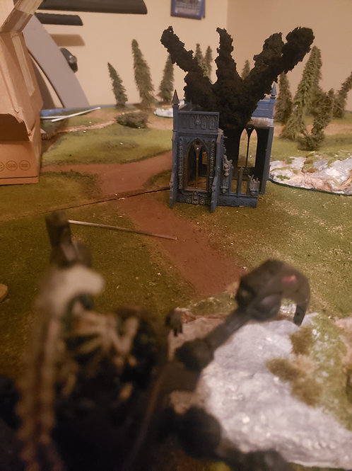 Artillery marker without light