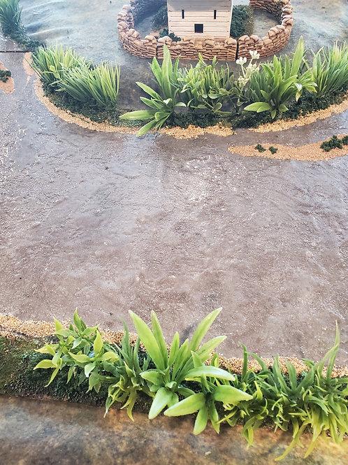 River/water tiles