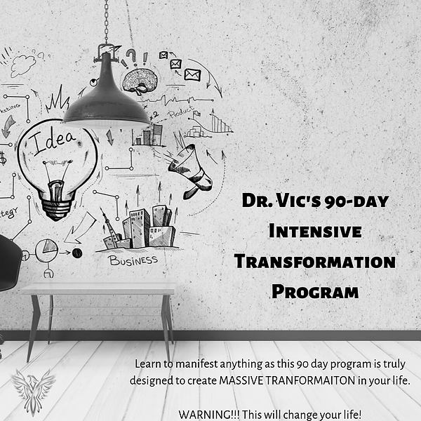 Dr. Vic's 4 Month Intensive Transformati