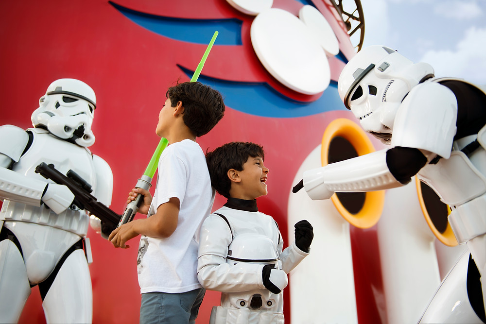 Star Wars Day at Sea on Disney Cruise Line - © & ™ Lucasfilm Ltd.