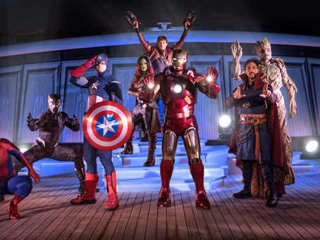 Marvel Day at Sea on Disney Cruise Line
