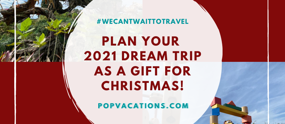 PLAN YOUR 2021 DREAM TRIP AS A GIFT FOR CHRISTMAS!