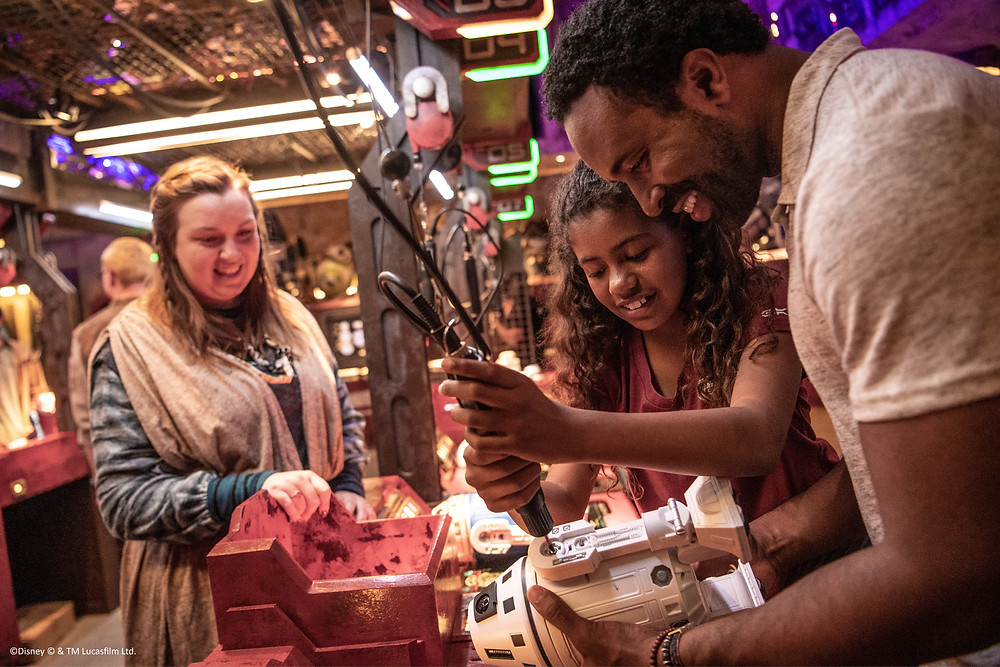 Get your spot at Droid Depot in Galaxy's Edge