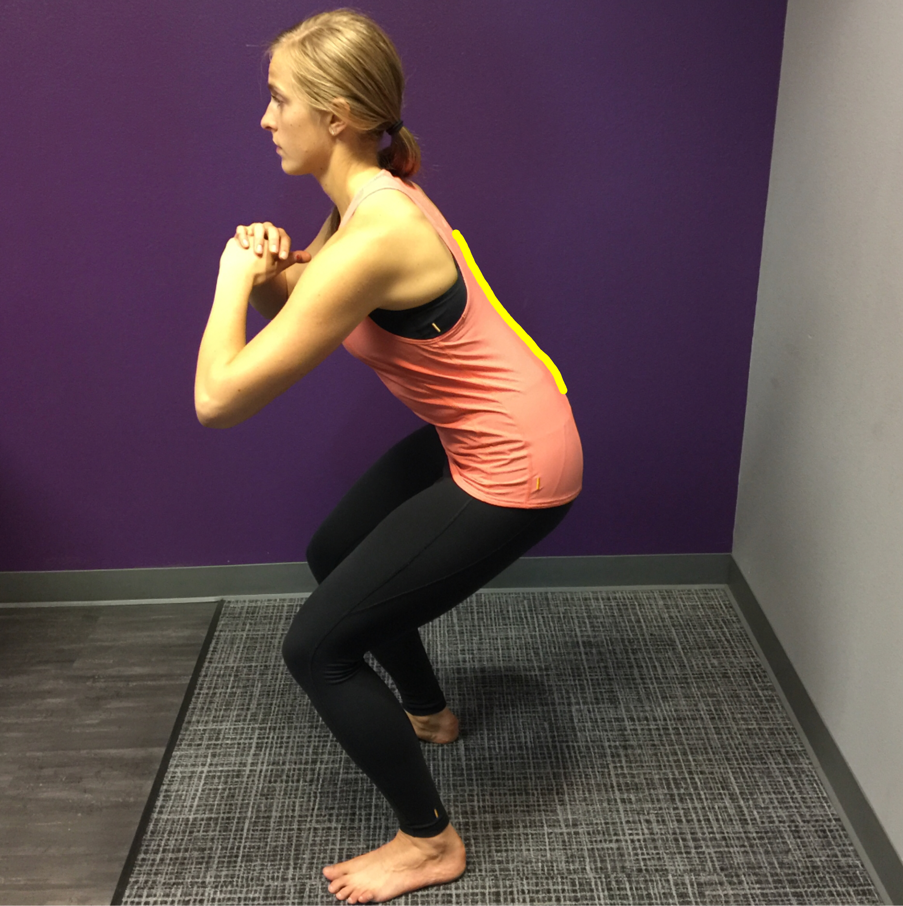 Stop Flattening the Back! Part 2 – Squats
