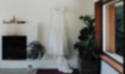 bridal suite - gold sequin dress