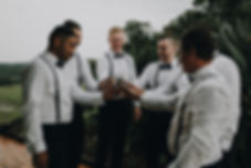 Byron Bay, groom suit up, wedding photography