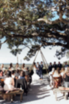 Byron BaByron Bay, Figtree restaurant,  wedding photography,ceremony wide, wedding photography