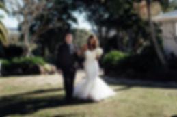 Byron Bay, Figtree restaurant,  wedding photography, Karhlua aisle walk