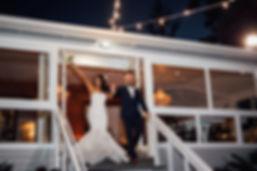 Sunset Byron Bay wedding photography