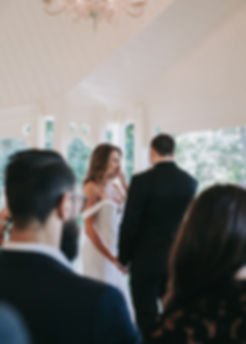 bride and groom ceremony vows