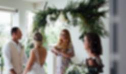 bridal walk aisle dad