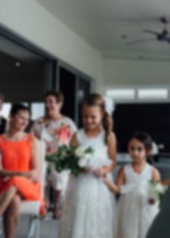 bridesmaid walk