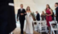 groom reaction over shoulder
