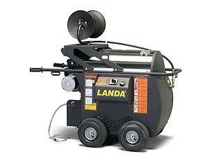 Landa HOT Electric Powered Roll Around Pressure Washer