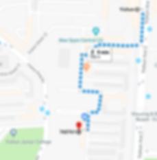 walking from yishun mrt to out yushun centre
