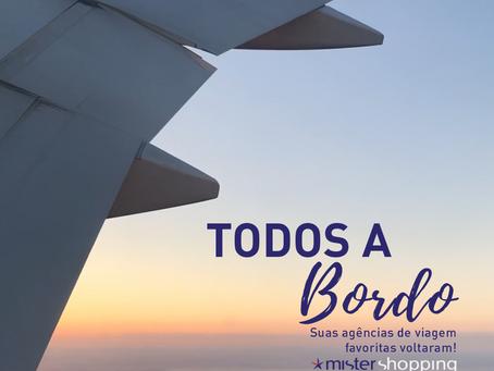 Todos a bordo! Reabertura das agências de turismo e viagens