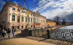 Stroganov Palace on Moika River