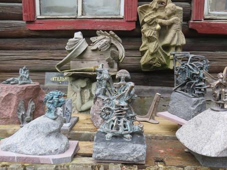 Artists' Village - open workshops of Saint Petersburg artists