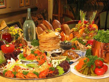 Russian food - weird but so dear to Russian heart