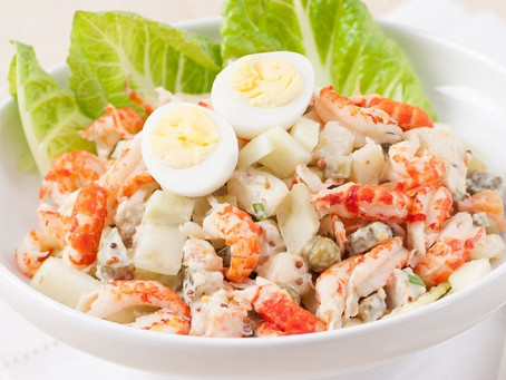 """""""Olivier"""" - the non-Russian Russian salad"""