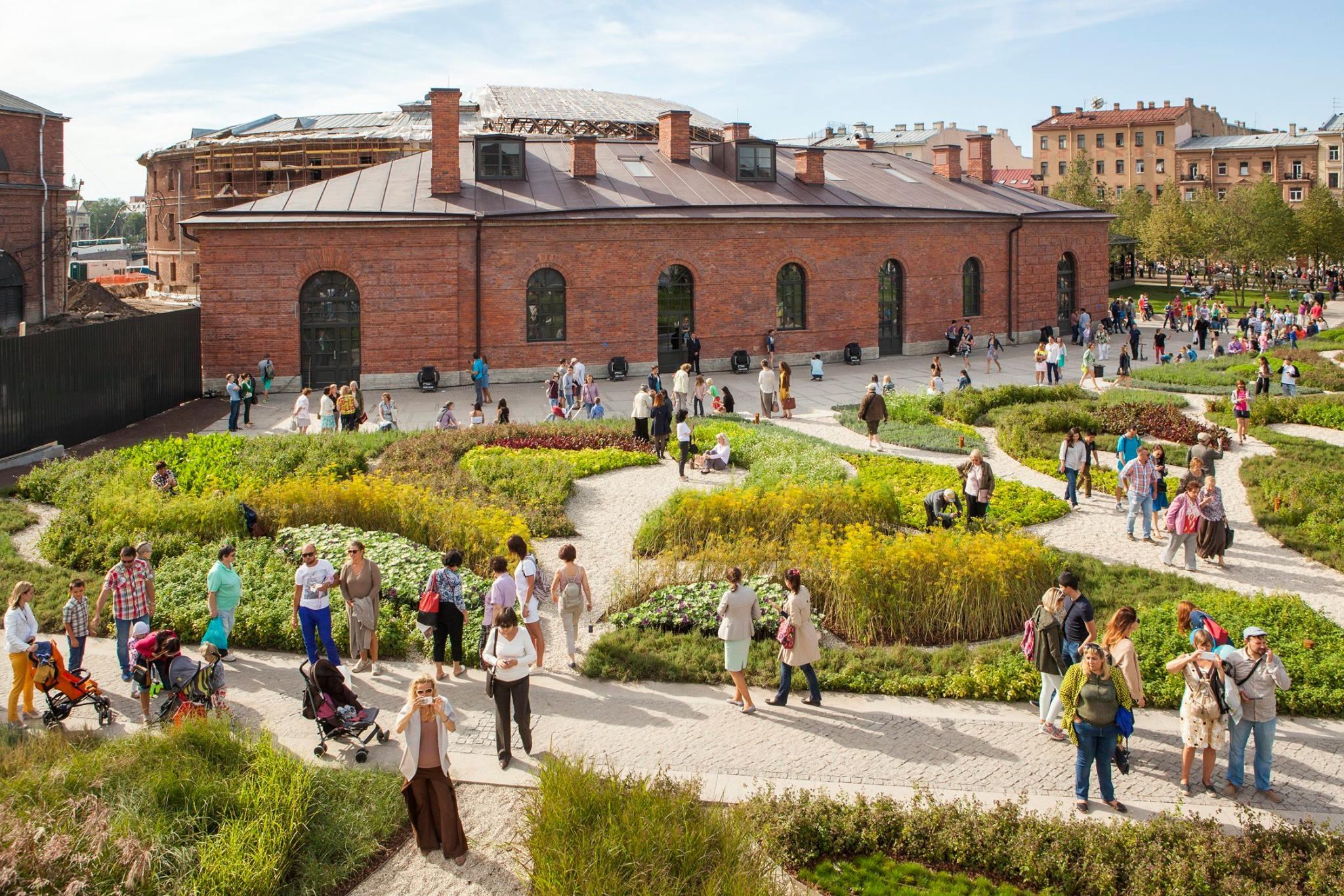 New Holland in Saint Petersburg