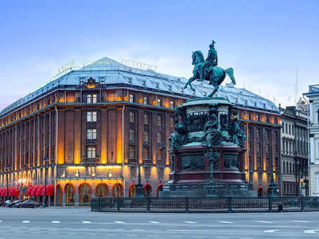 Rich history of Astoria hotel in the heart of Saint Petersburg