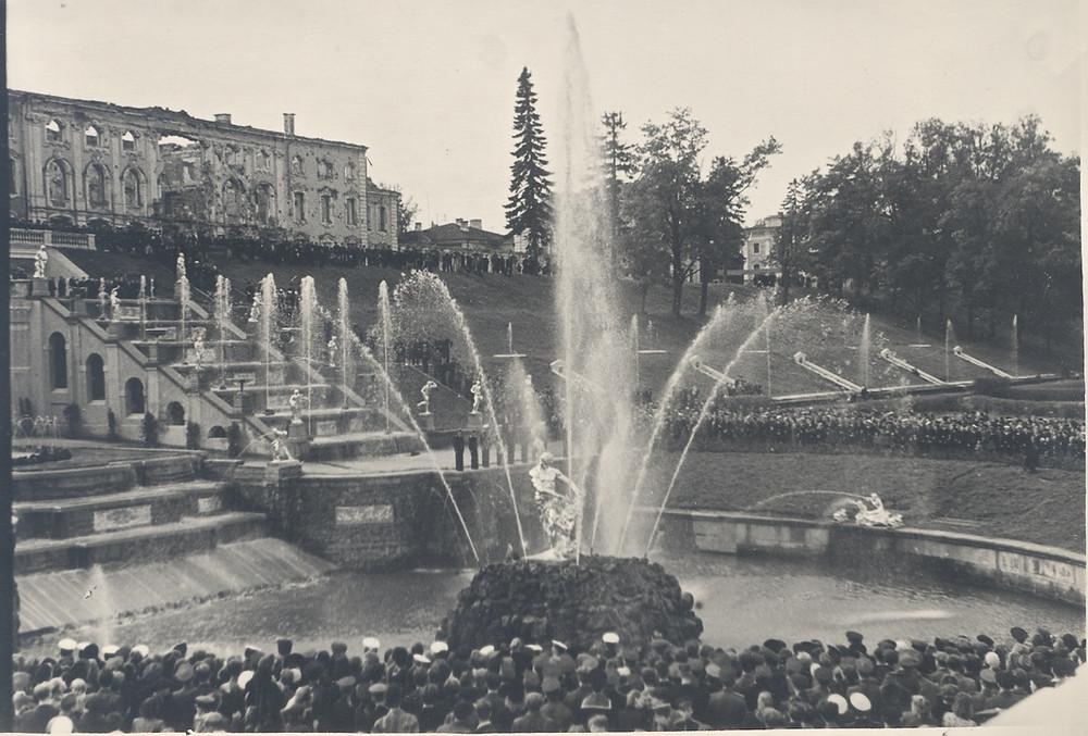 Peterhof after World War II