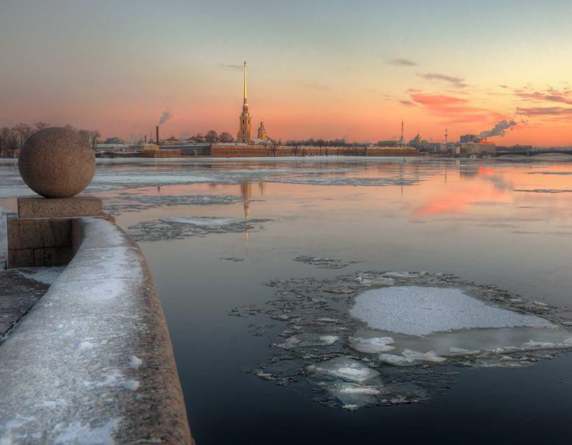 Photo: Atoyanalex. April in Saint Petersburg