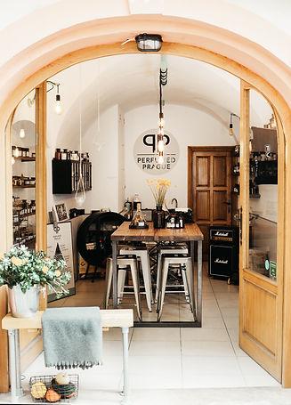 Perfumed Prague showroom