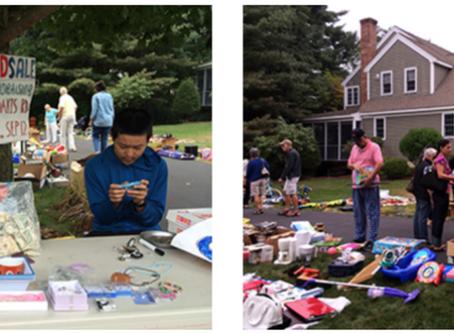 Fundraising effort by high school students in Boston