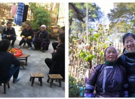 People are the key to village development   Yunnan Green Foundation visits Gaoba Miao Village in Ron