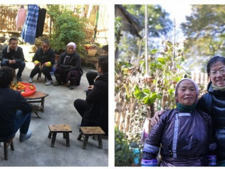 People are the key to village development | Yunnan Green Foundation visits Gaoba Miao Village in Ron