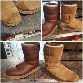 teinture chaussures timberland