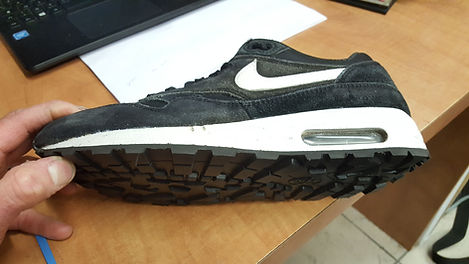 repair sole - resoling nike air max