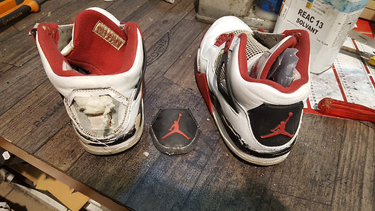 contrefort nike air jordan