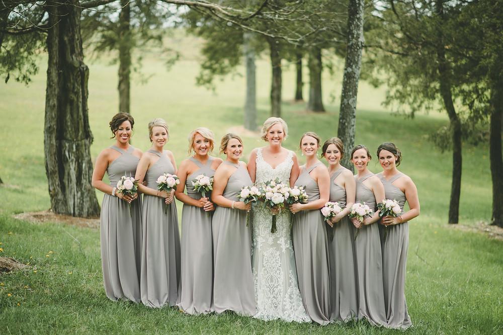 st. louis bridal party