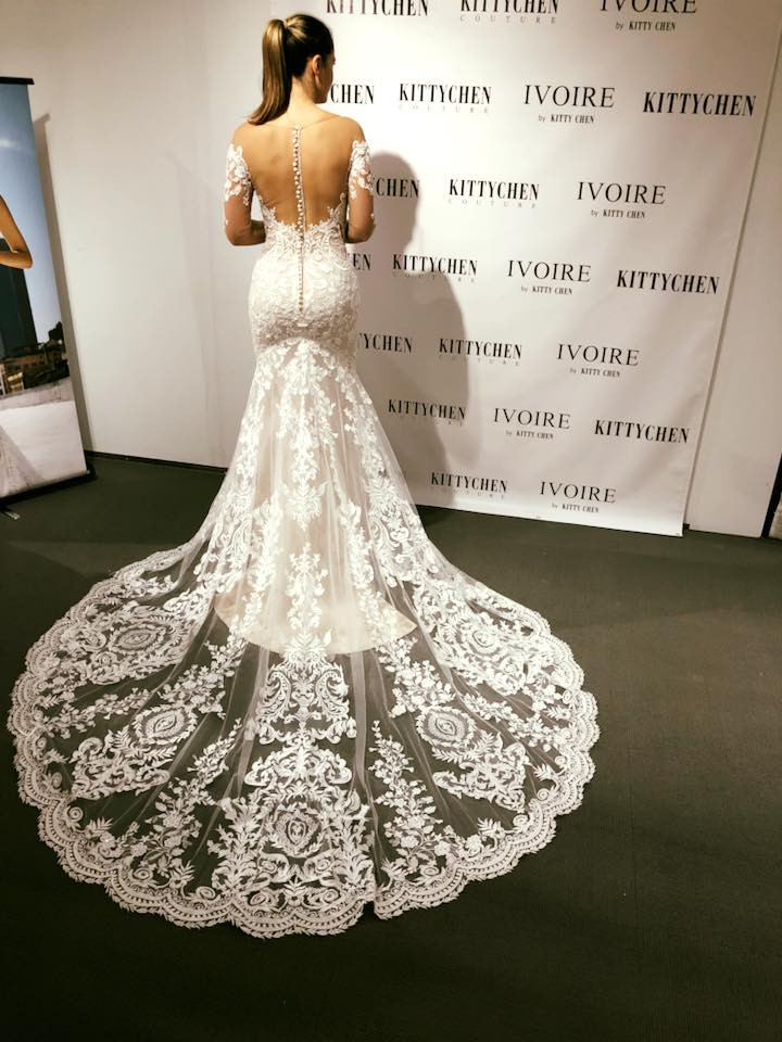 Wedding dress trends 2018 kittychen couture