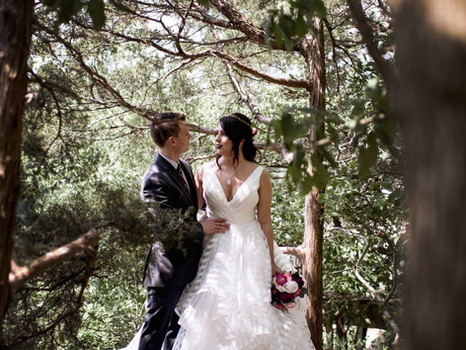 Real Mia Grace Bride: Wedding of Kati and Eric