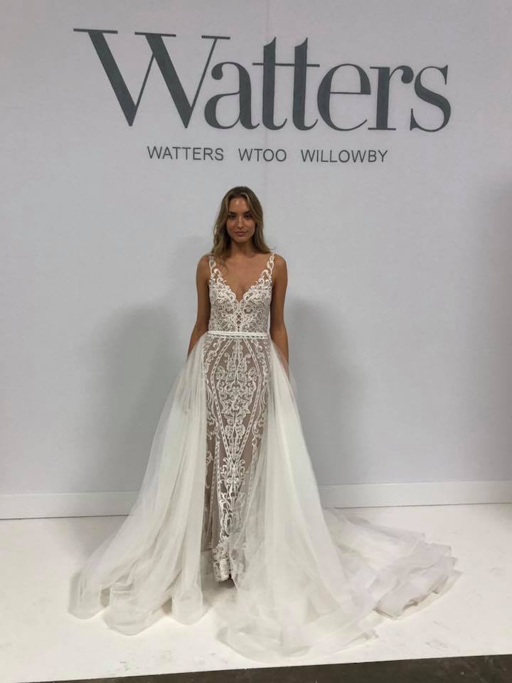 bridal gown trends 2018 watters wedding dress