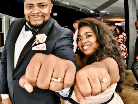 Real Mia Grace Bride: Wedding of Ashley and Harlan