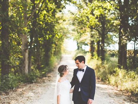 Real Mia Grace Bride: Wedding of Lauren and Andrew