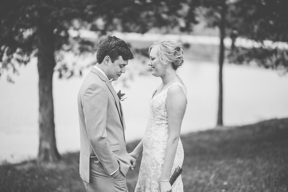 st. louis wedding first look