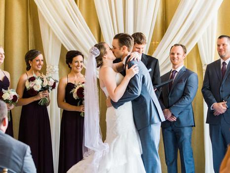 Real Mia Grace Bride: Wedding of Erin and Dan
