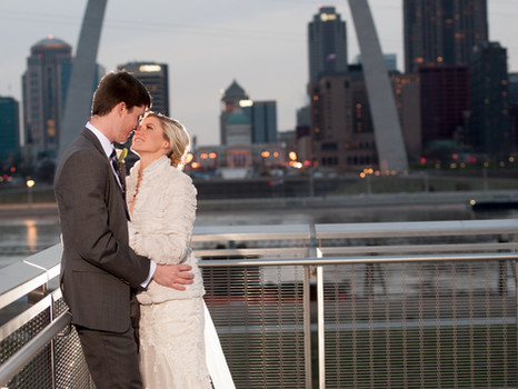 Real Mia Grace Bride: Wedding of Katie and David