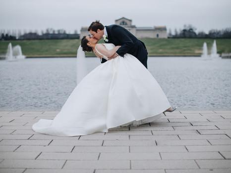 Real Mia Grace Bride: Wedding of Jennifer and David