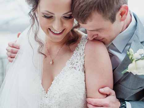 Real Mia Grace Bride: Wedding of Jenna and Michael
