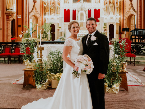 Real Mia Grace Bride: Wedding of Cassie and Ryan