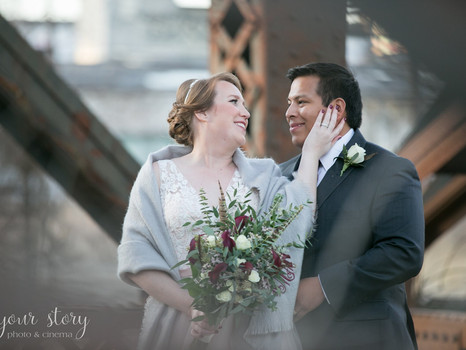 Real Mia Grace Bride: Wedding of Khori and Mike