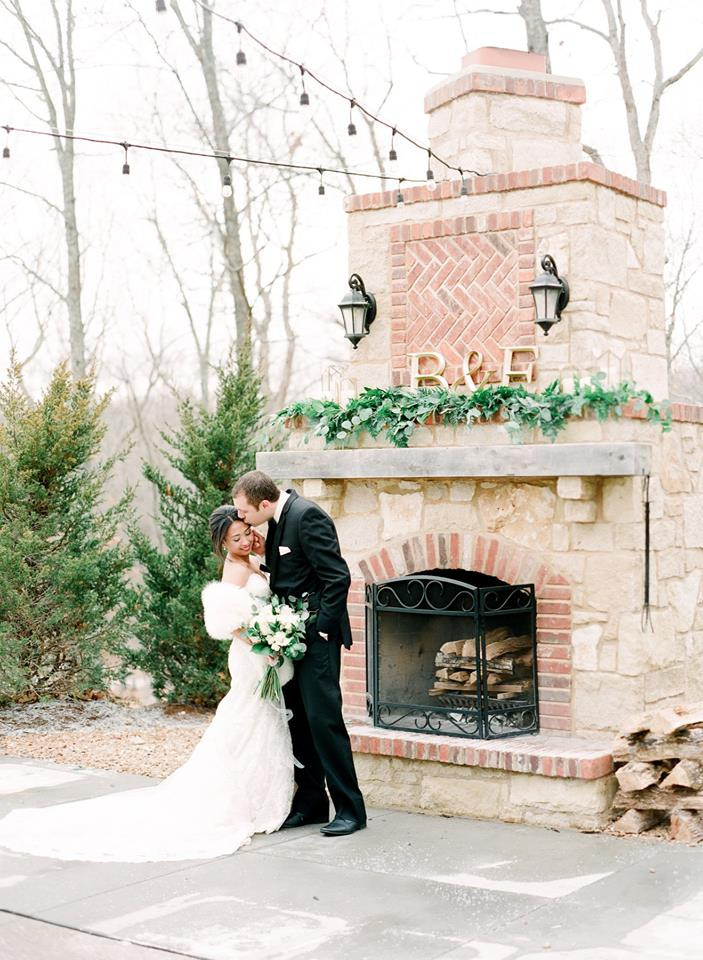 St. Louis wedding winter